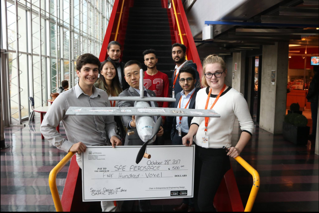 OMMIC 2nd Place for Senior Design Competition