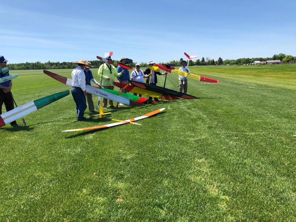 Glider Comptition for RC Club Ottawa