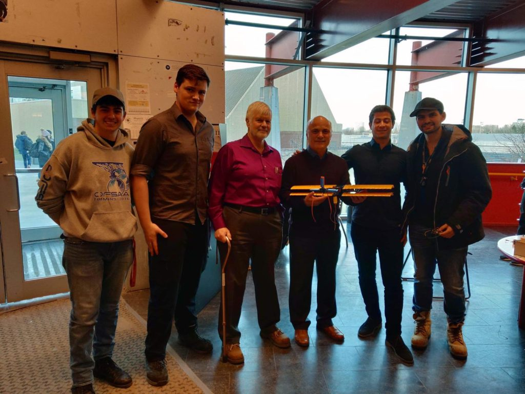 Winners of ELG3336 Plane Design Competition